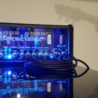 Raylan Peralta - calibrage audio lors de l'enregistrement de la maquette